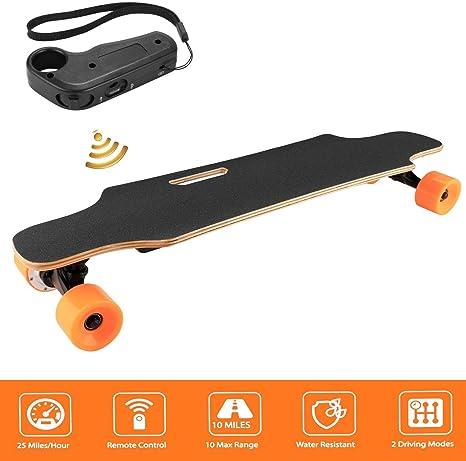 Amazon.com: Kaimu - Monopatín eléctrico con mando a ...