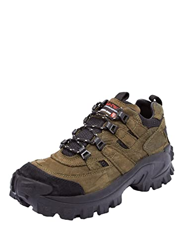 Woodland Men Olive Green Nubuck Laceup10 Boots: Buy Online at Low Prices in  India - Amazon.in