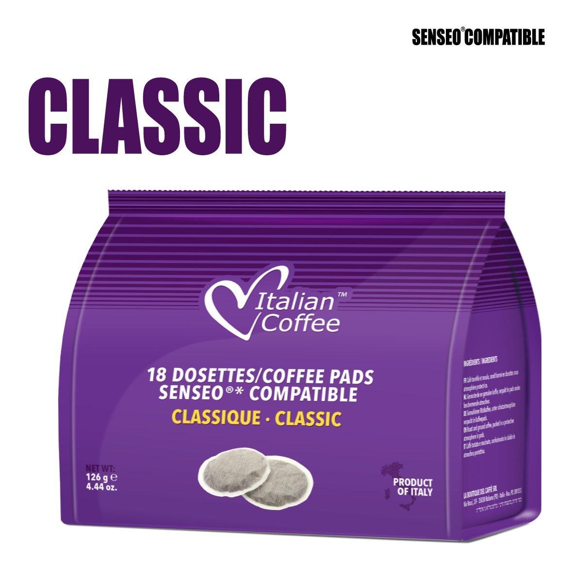 Senseo cápsulas compatibles café italiano: Amazon.com ...