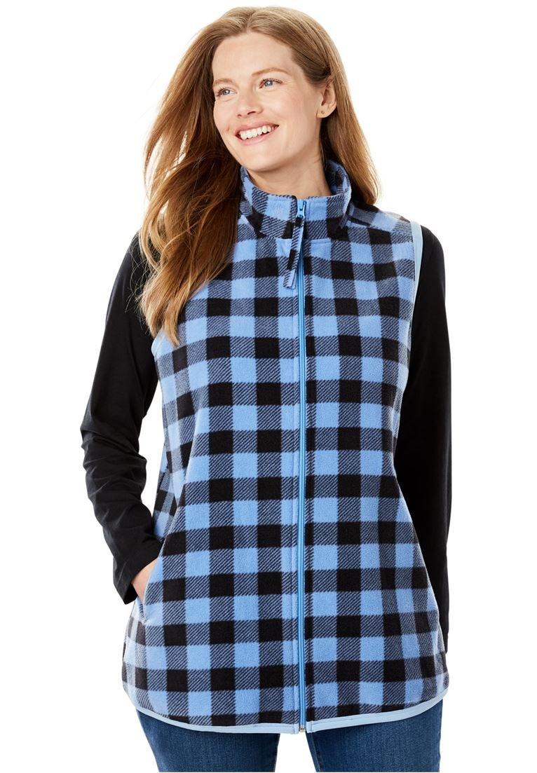 11fe510d08080 Galleon - Women s Plus Size Vest In Soft