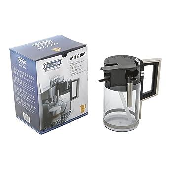DeLonghi ESAM 6600 - Jarra de leche para cafetera Prima Donna ESAM 6600, color transparente: Amazon.es: Hogar