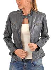 Womens Leather & Faux Leather Coats & Jackets | Amazon.ca