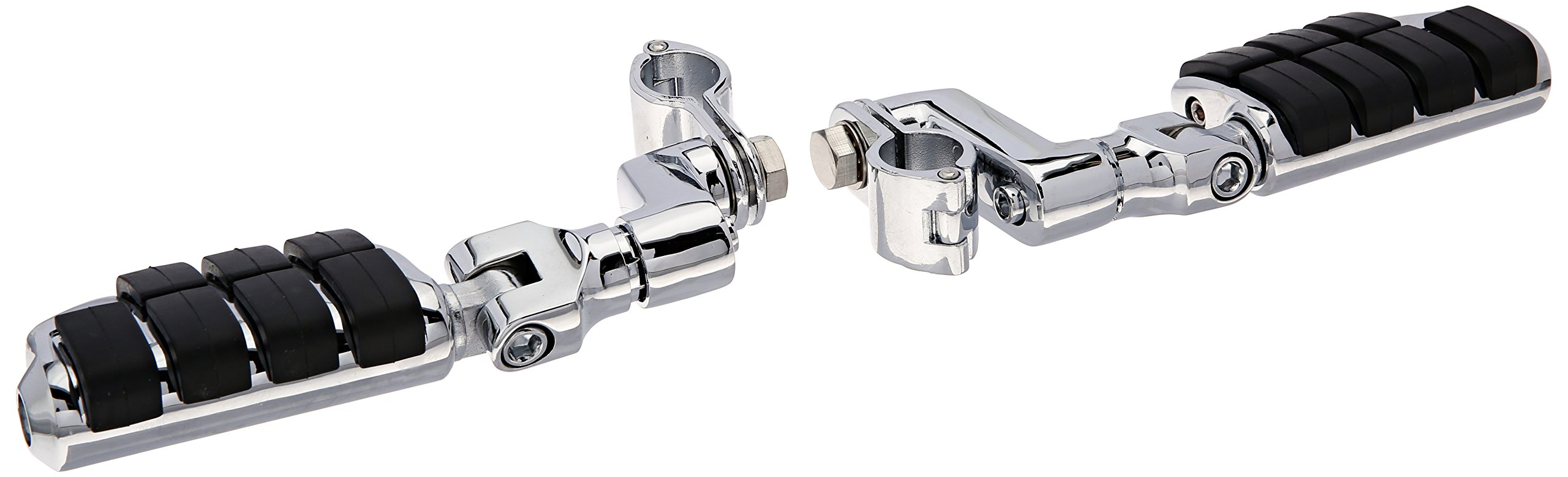 Kuryakyn 7999 ISO Large Highway Pegs with Offset Mounts and 1-1/4'' Magnum Quick Clamps