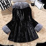 Sumeimiya Women's Faux Fur Coat Wedding Cloak