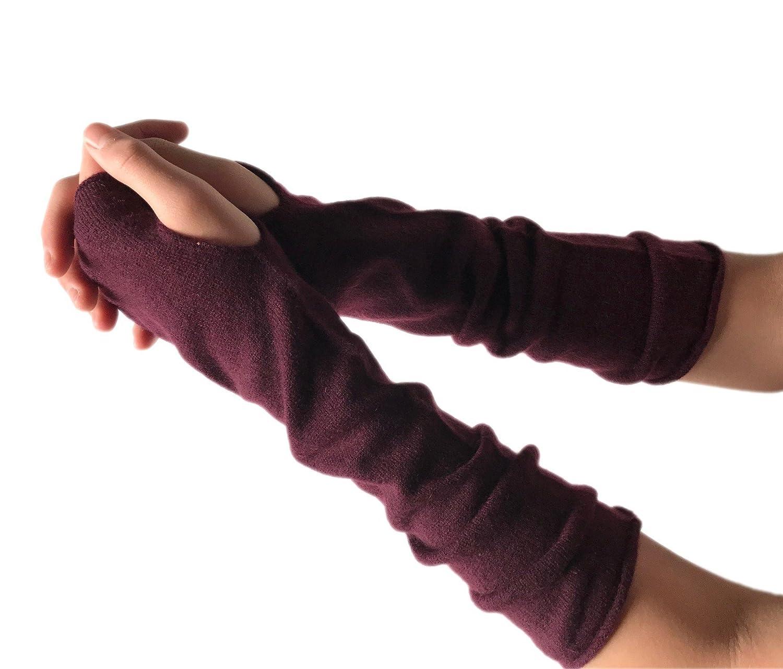 Prettystern Kaschmir Armwärmer Lange Fingerlose Pulswärmer Hand-stulpen