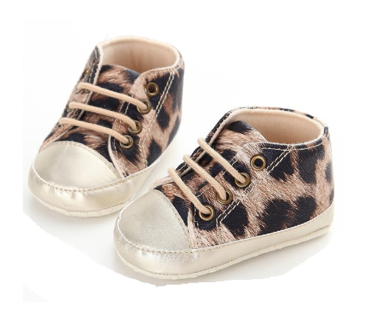 New Style Kids Boy Girls Leopard Sports Sneakers Classic Spring Autumn Newborn Baby Prewalkers Boots Crib Babe Soft Bottom Shoes 3