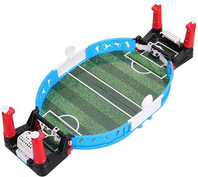 STOBOK Mini Juegos de Futbolín Fútbol Portátil para Deportes con Los Dedos para Niños Y Adultos Juegos de Fútbol Juego Interactivo Entre Padres E Hijos Juguetes de Fiesta Futbolín: Amazon.es: Juguetes y