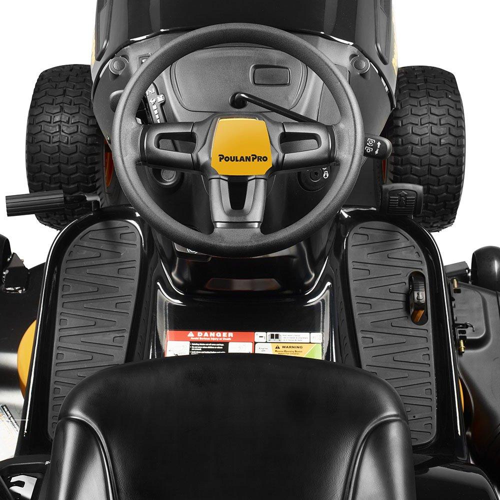 Poulan Pro PPX19A46 Gas Automatic Riding Mower, Black