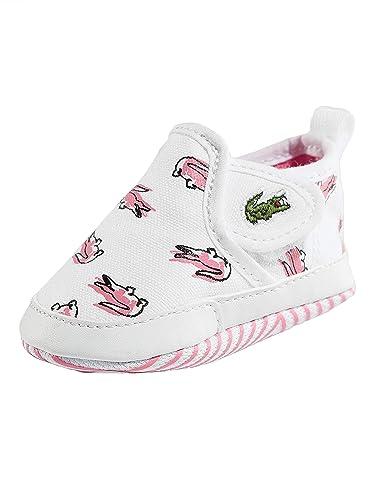 ed4a93086a2 Lacoste Gazon Crib 118 1 White Pink Textile 19 EU  Amazon.fr ...