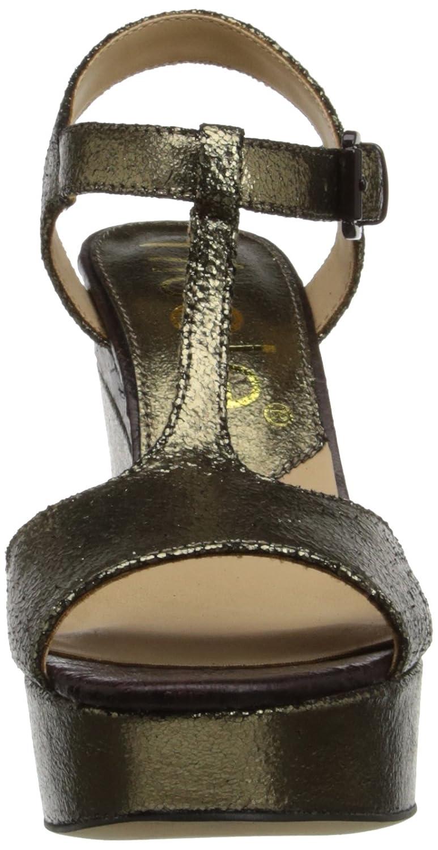 nicole Women's Gerry Wedge Sandal B00HRNI49W 10 B(M) US|Pewter