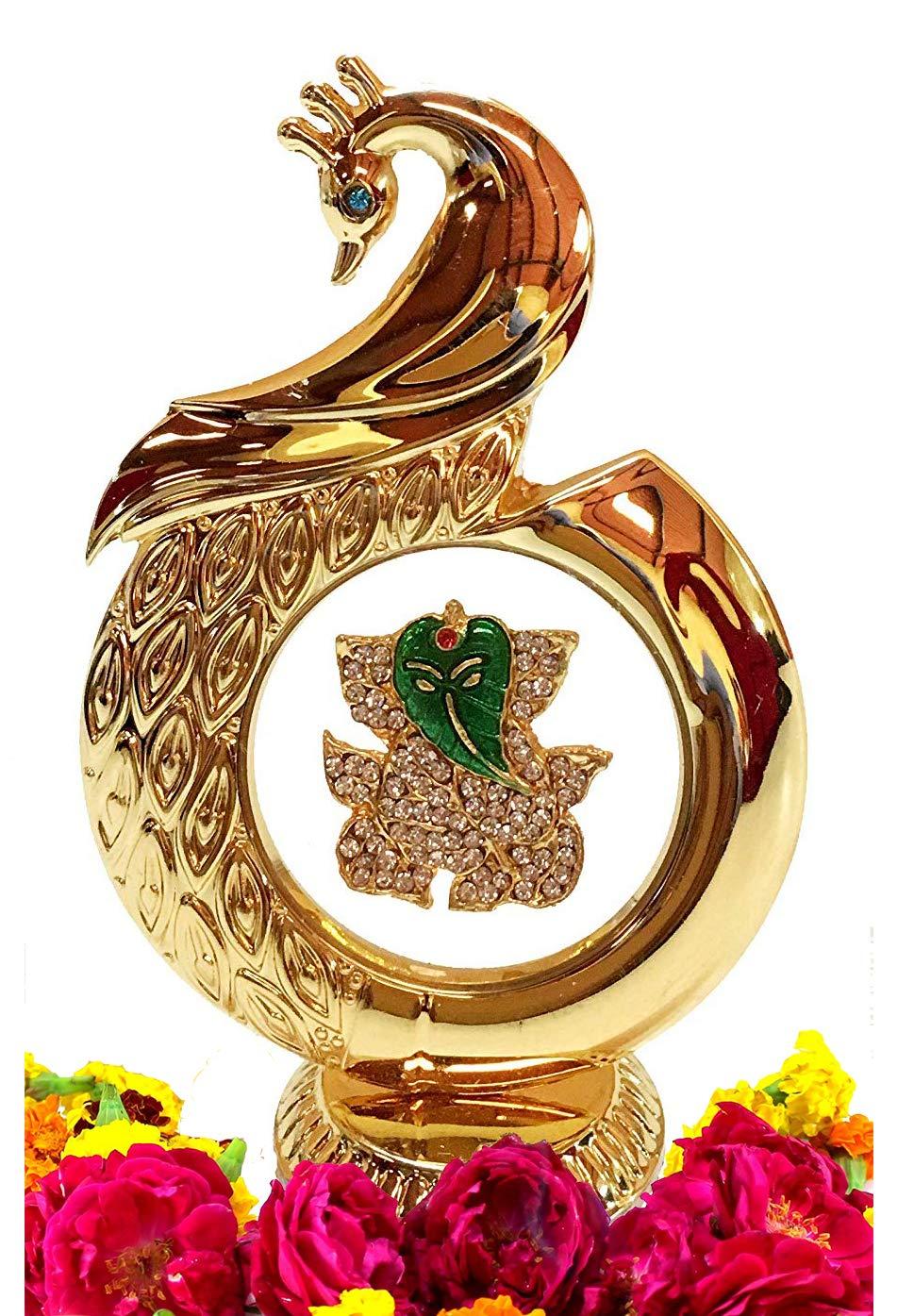 Diwali Gifts - Peacock Shaped Ganesh