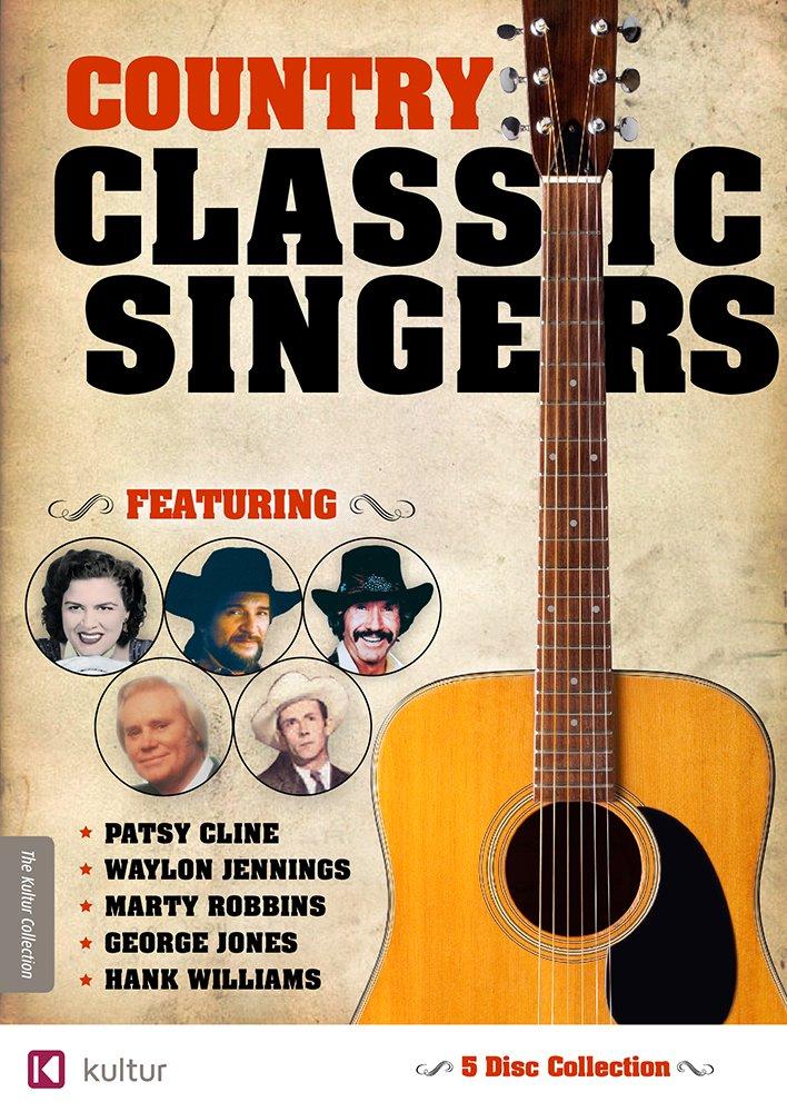 Amazon.com: Country Classic Singers: Marty Robbins, George Jones ...