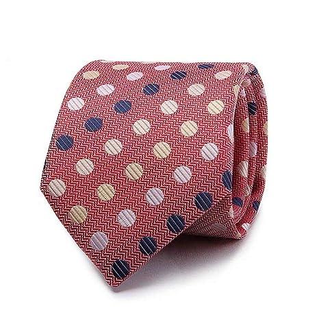 Zjuki Corbata Corbatas de poliéster para Hombre 8 cm Corbata ...