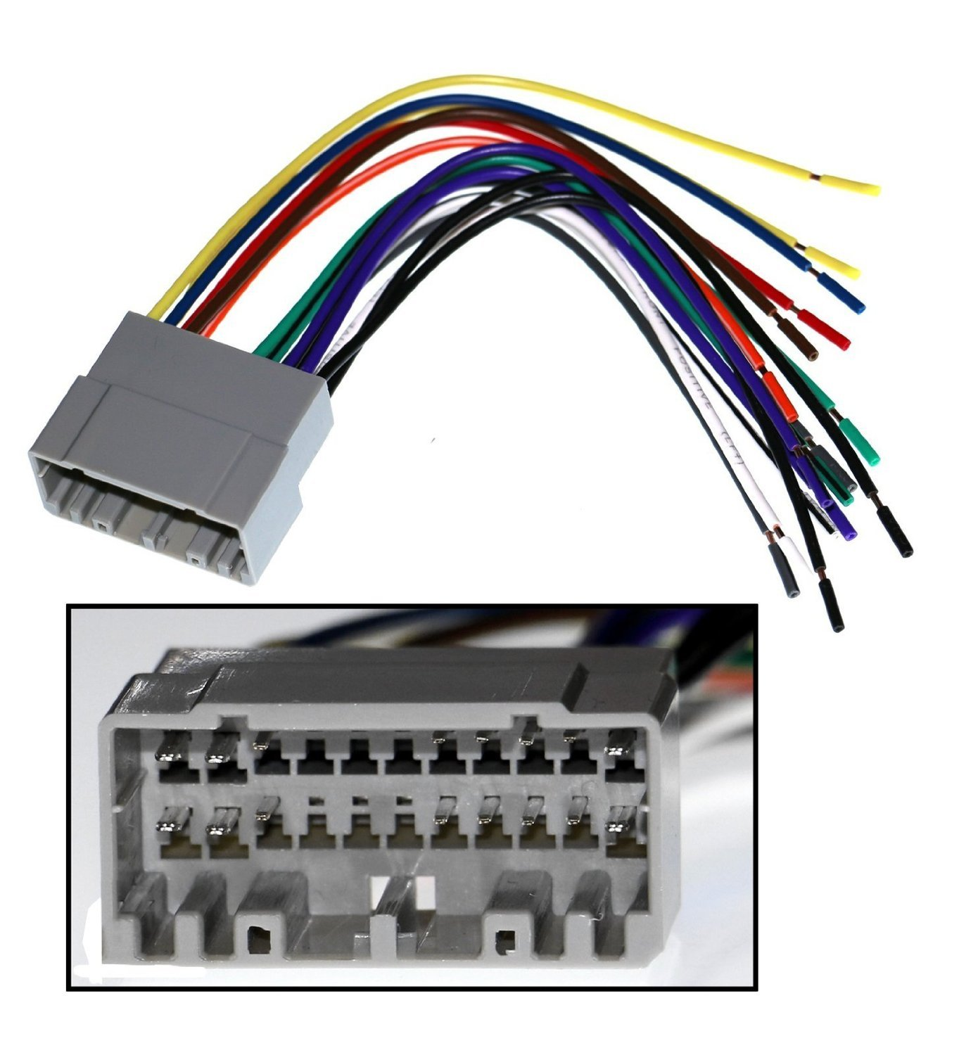 710Q%2BKgavVL._SL1500_ amazon com pioneer car stereo reciever dash install mounting car wiring harness kits at n-0.co