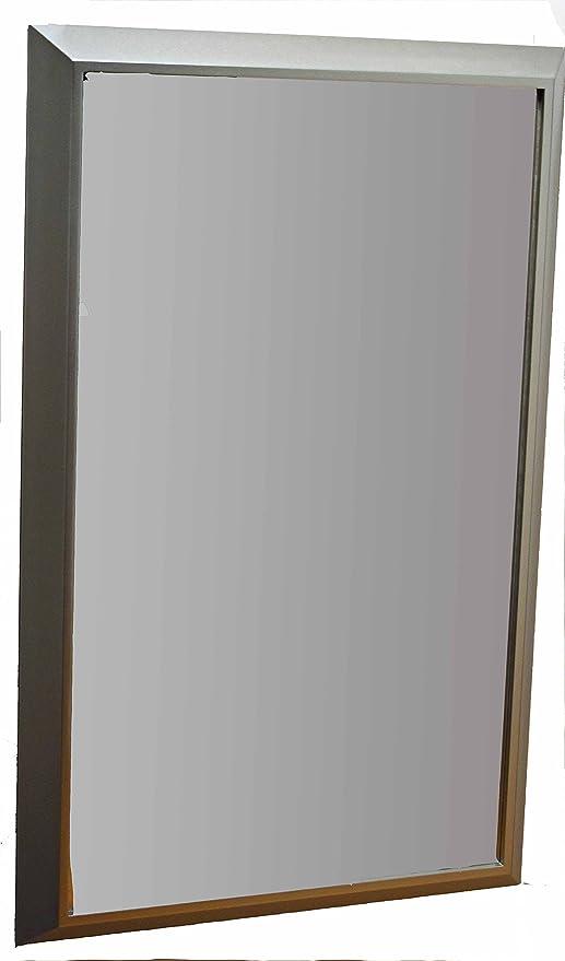 Specchiera specchio grande da parete con cornice moderna in legno ...