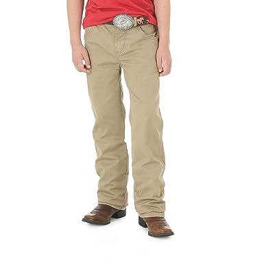 c4273405a Amazon.com: Wrangler Boys' Retro Slim Fit Straight Leg Jean, fawn ...
