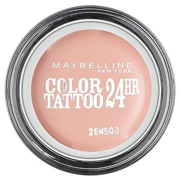 Amazon.com : Maybelline Color Tattoo 24hr Eyeshadow 4g - 91 Creme De ...