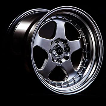 17 JNC010 Gold Machined Lip Rim 4x100//4x114.3-17x8 inch JNC Wheels