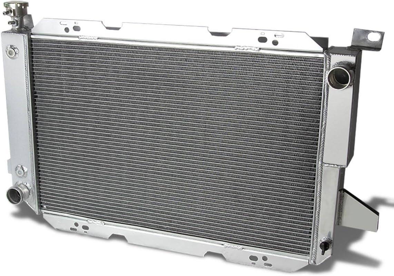 DNA Motoring RA-F150-85V8-3 3-Row Full Aluminum Radiator 1 Pack