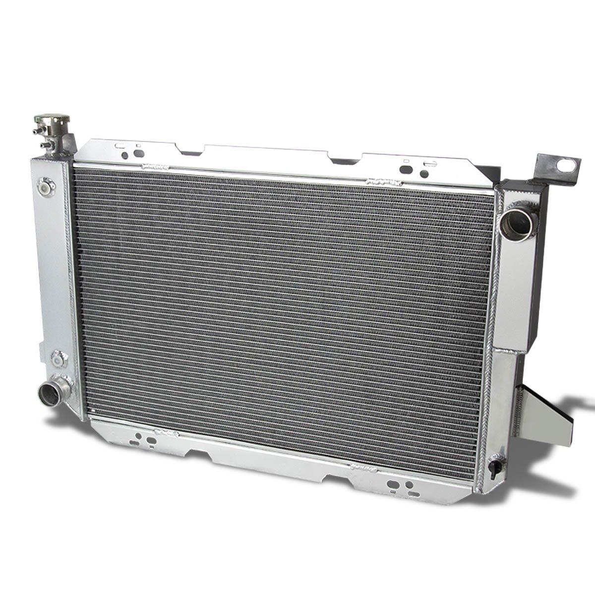 For Ford F-150//F-250//Bronco Full Aluminum 3-Row Racing Radiator 8 Gen