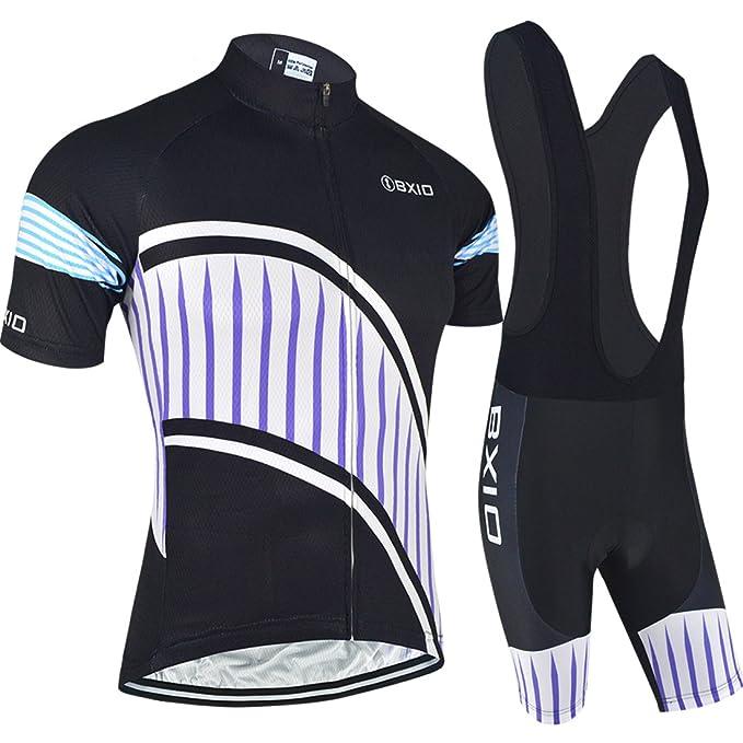 Amazon.com: Pro Cycling Jersey Sets Bike Racing Short ...