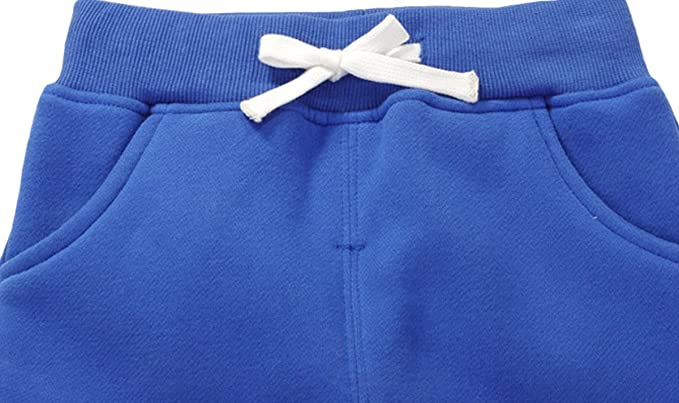 DELEY Unisex Kids Cotton Pants Winter Trousers Baby Bottoms Sweatpants 1-5 Years