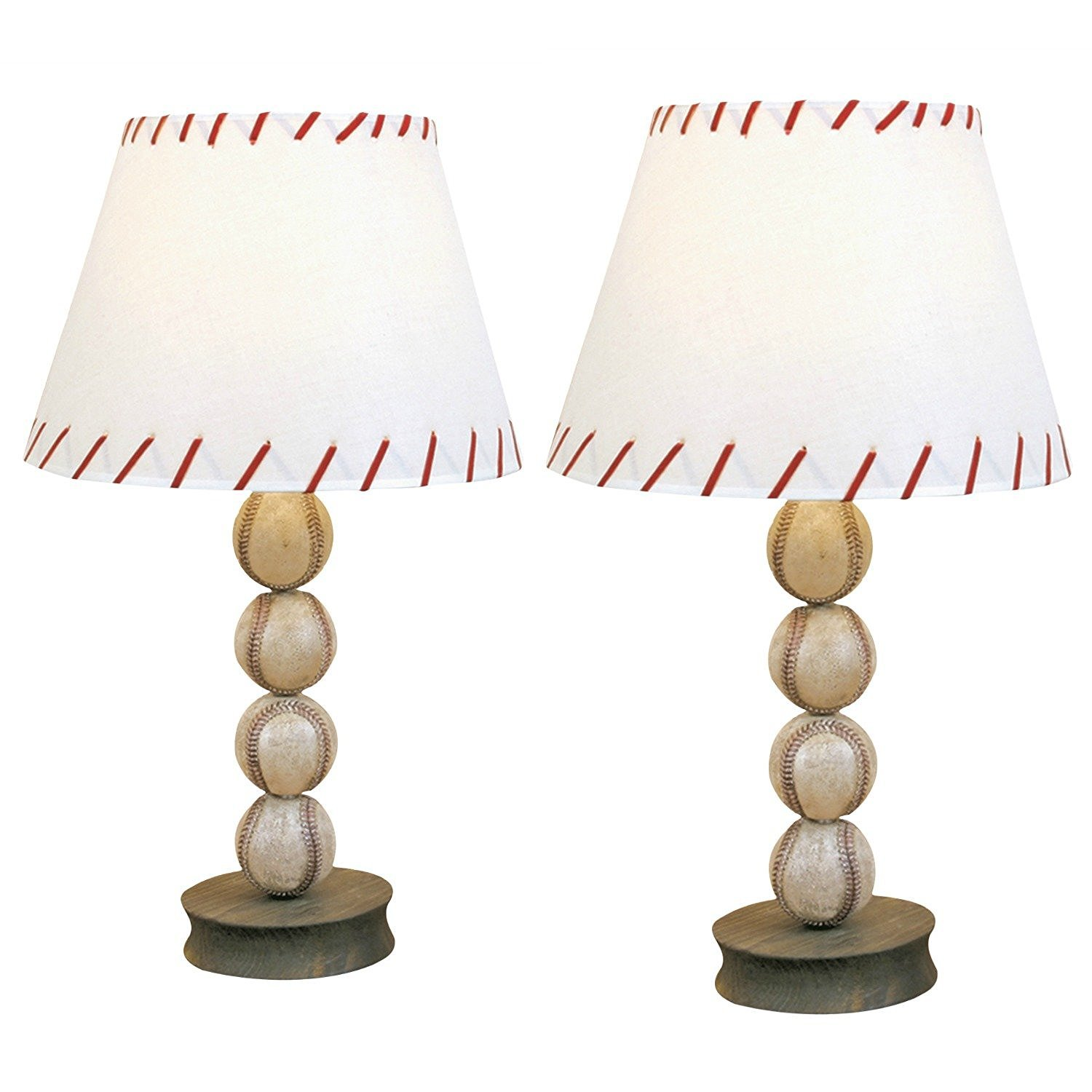 Amazon.com: DEI Baseball Ball Sports Table Lamp Accent Desk Light (2 Pack):  Baby