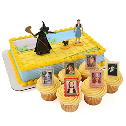 Amazon Com Wizard Of Oz Officially Licensed Cake Topper And 24