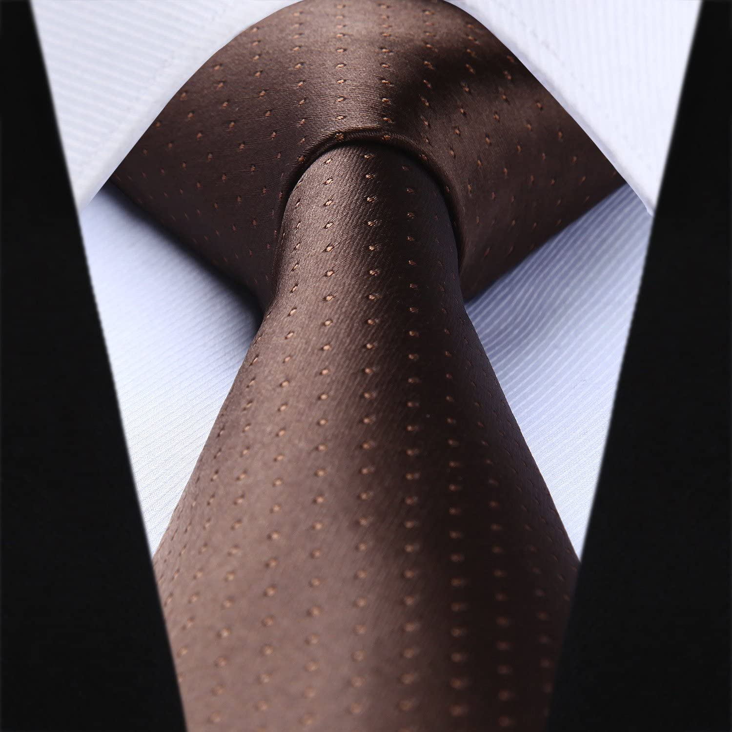 BIYINI Mens Wedding Tie Woven Classic Necktie /& Pocket Square Set