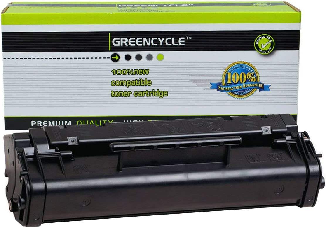 GREENCYCLE High-Yield 06A C3906A Toner Cartridge Replacement Compatible for HP Laserjet 5L Xtra 5L-FS 6L 6Lse 6Lxi 3100 3100se 3100xi 3150 3150se 3150xi,Page Yield Up to 3100 Pages (Black,1 Pack)