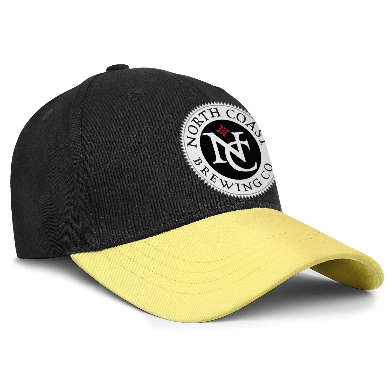 Adjustable Baseball Cap Casual Trucker Hat Cotton Coolcaps Mens North-Coast-Brewing-Logo