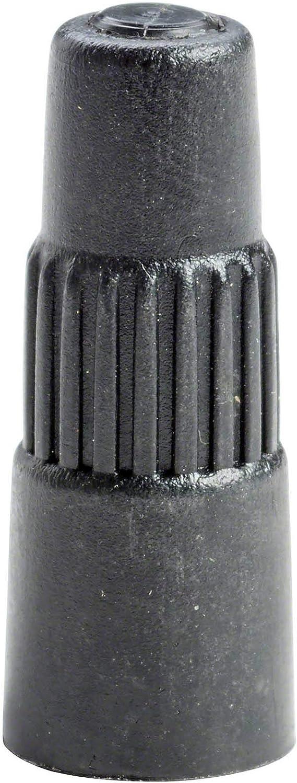 10x Ventilverlängerung Autoventil 40mm Ventilverlängerung Kfz Ventilkappe Ventilverlängerung Schwarz Autoventil Baumarkt
