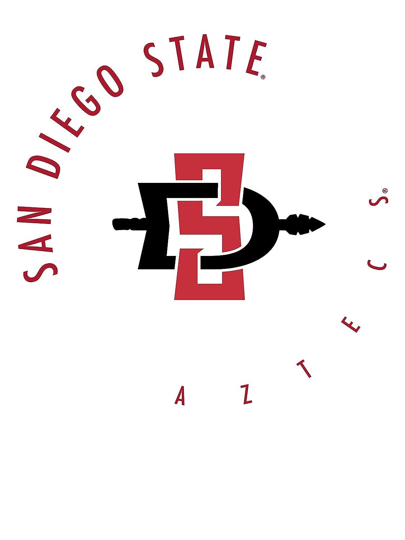 RYLSDS11 Mens//Womens Premium Triblend T-Shirt Official NCAA SDSU Aztecs