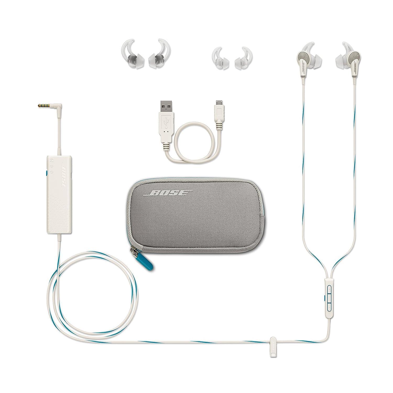 819a9e65736 Amazon.com: Bose QuietComfort 20 Acoustic Noise Cancelling Headphones, Apple  Devices, White: Home Audio & Theater