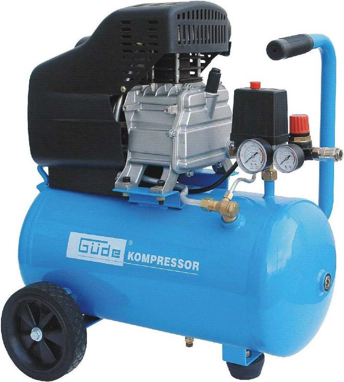 Güde Druckluft-Kompressor 231//10//24 12-teilig 230 V 1,5 kW 10 Bar ölgeschmiert