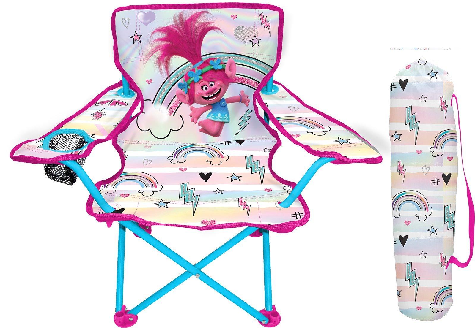 DreamWorks Trolls Fold N Go Chair with Carry Bag
