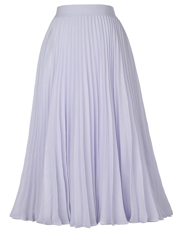 Falda Mujer Verano Fiesta Sexy Elegante Tutu Moda Largo Chiffon ...