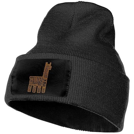 51d987de5cfec0 Amazon.com: Unisex Llama Clipart Beanie Hats - 100% Acrylic Winter Warm  Skull Knit Cap Black: Clothing