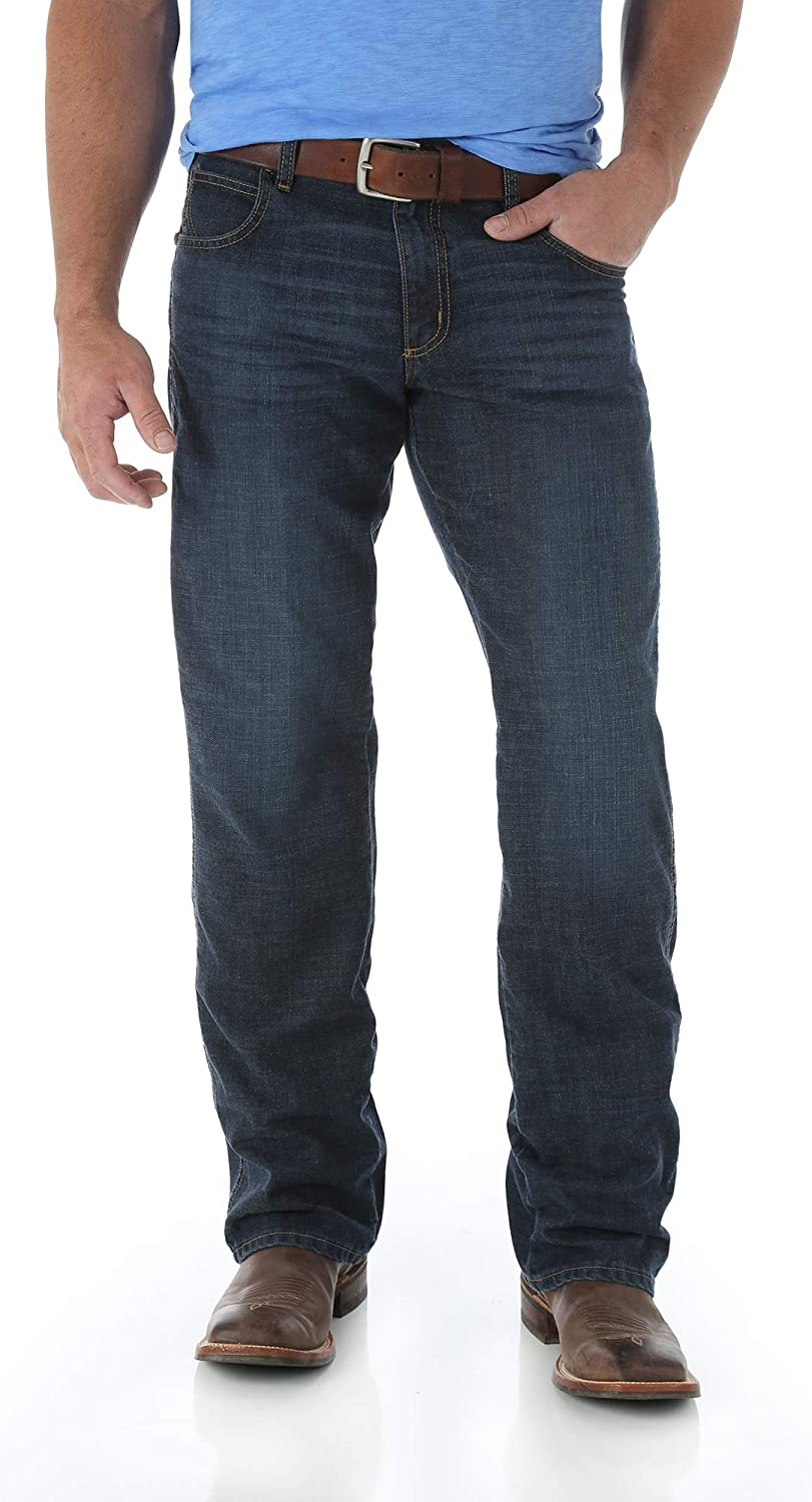 Wrangler Mens Relaxed Fit Boot Cut Jean