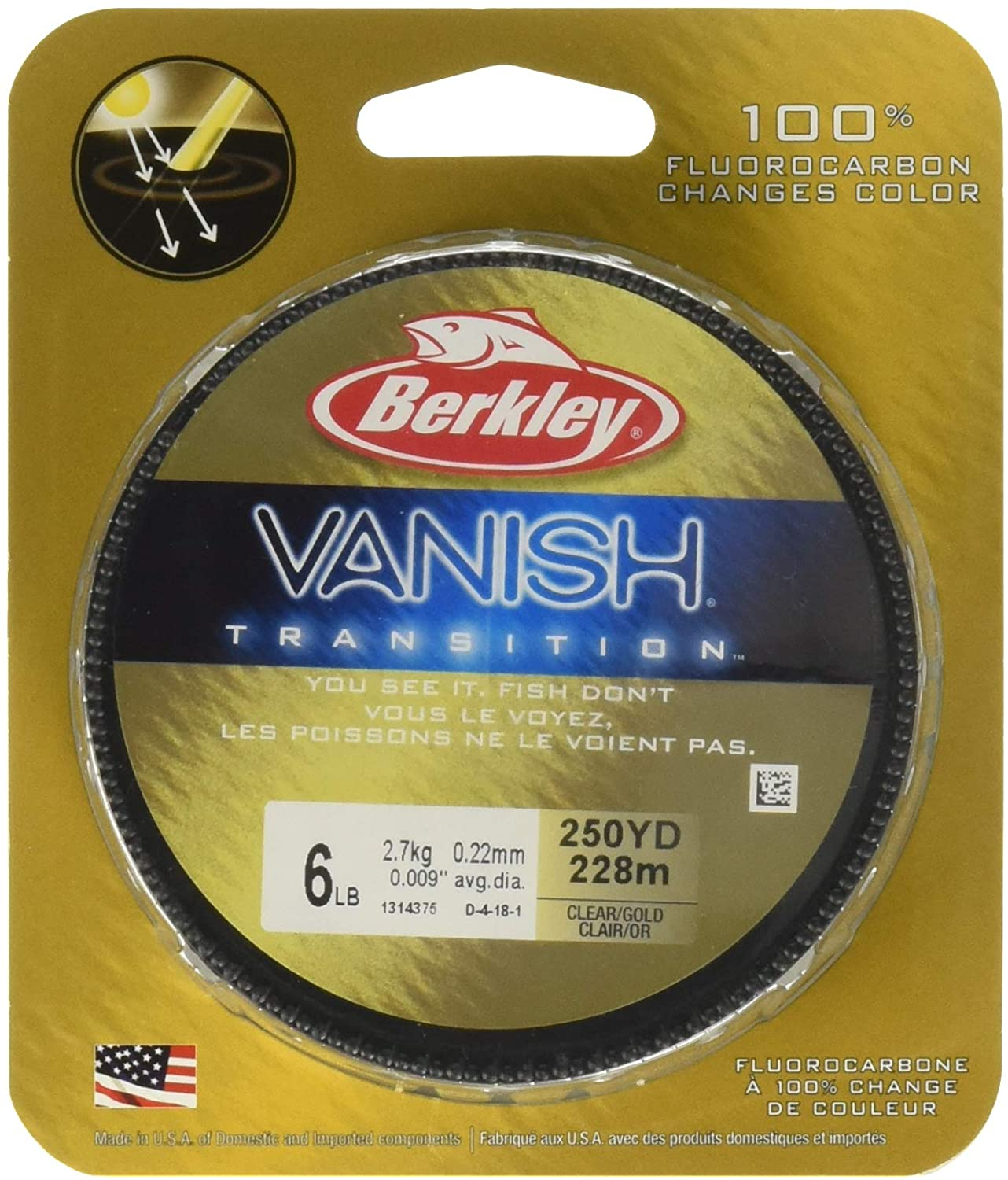 Berkeley Vanish Fluorocarbon Fishing Line