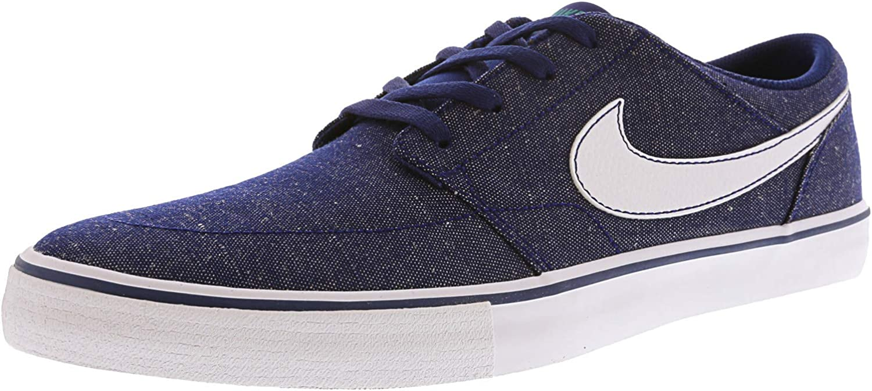 Nike Men s Sb Portmore Ii SLR CVS P Ankle-High Canvas Skateboarding Shoe