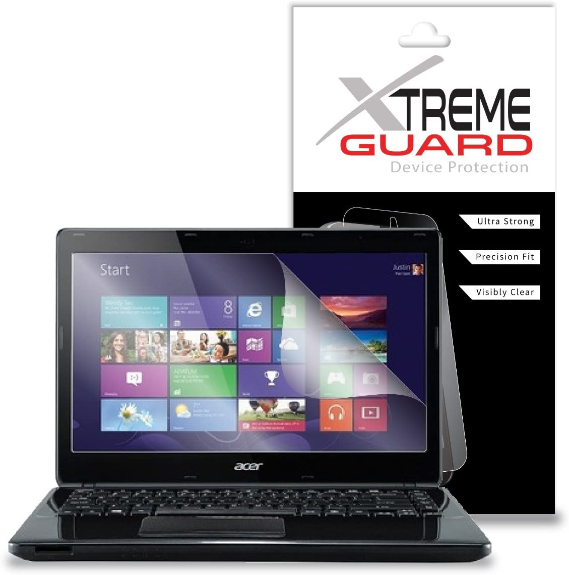 "Premium XtremeGuard Screen Protector Cover for Acer Aspire V3-47 14"" Laptop (Ultra Clear)"