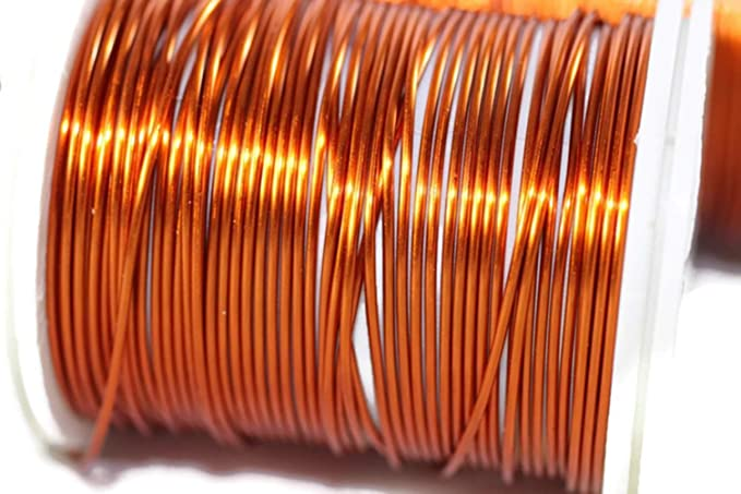 Dead Soft Wire 16//28//60//92//155 Feet Artisan Wires Artistic Copper Jewelry Wire 18,20,22,26,28 Gauge 0.6 mm Wire Wrapping 60 Feet 22 Gauge Non Tarnish Copper Wire