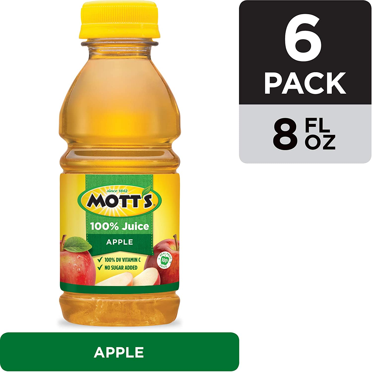Mott's Apple Juice, 8 oz (Pack of 6)