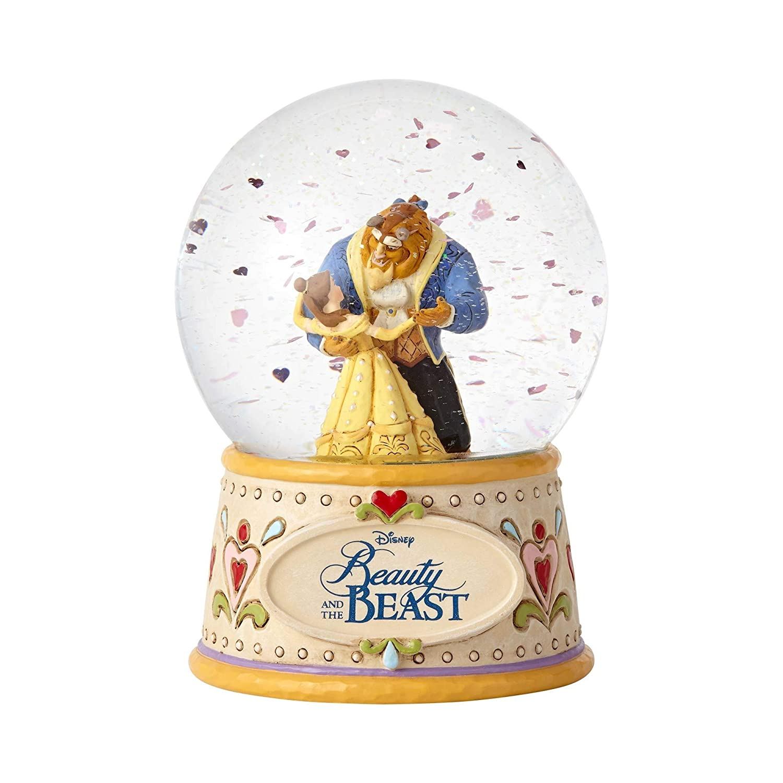Enesco Disney Traditions Beauty /& the Beast Water Globe