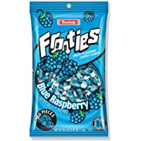 Blue Raspberry Frooties, Tootsie Roll Chewy Candy, 360 Piece Count, 38.8 oz Bag