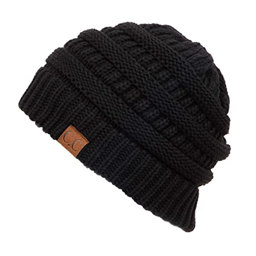 efeac88565c87c C.C Exclusives Cable Knit Beanie - Thick, Soft & Warm Chunky Beanie Hats ( HAT