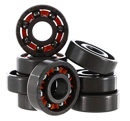 Bronson Speed Co. Raw Sheildless Bearings (Set of 8)
