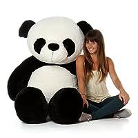 AVS 4 Feet Stuffed Spongy Panda Teddy Bear Birthday (White ,Black / 122 Cm)