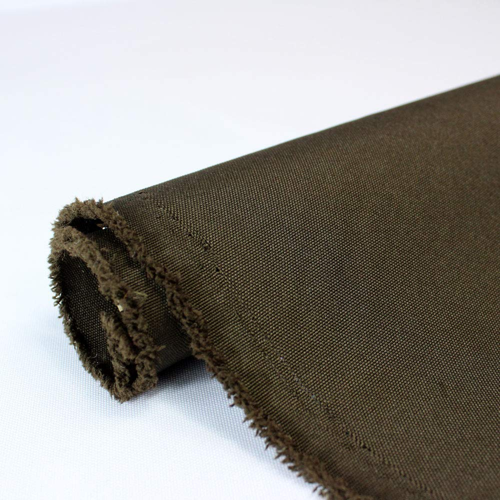 Waterproof Canvas Fabric Outdoor 600 Denier Indoor/Outdoor Fabric by the yard PU Backing W/R, UV, 2times GOOD PU Color : CHOCOLATE 10 Yards